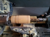 stock-on-lathe